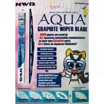 NWB GRAPHITE WIPER BLADE AQUA JAPAN (18+24)