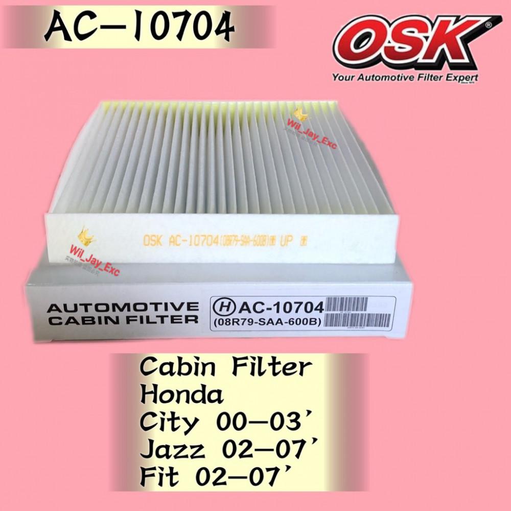 OSK CABIN FILTER AC-10704 HONDA CITY 2000-2003 ,JAZZ 2002 ...
