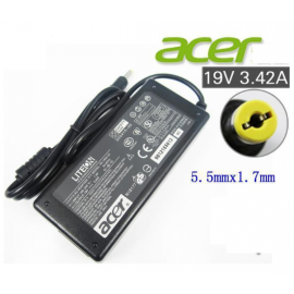 image of NEW Acer Aspire Power Adapter Charger with FREE 3 pin plug power cord 2480 MS2361 MS2360 MS2347 X09 MA52 ZG5 V3-771 7710 V5-121 V5-122 D620 D725 E5-422 E5-422G E5-473 E5-473G E5-522 E5-522G E5-532T E5-573 E5-573G E5-573T E5-573TG
