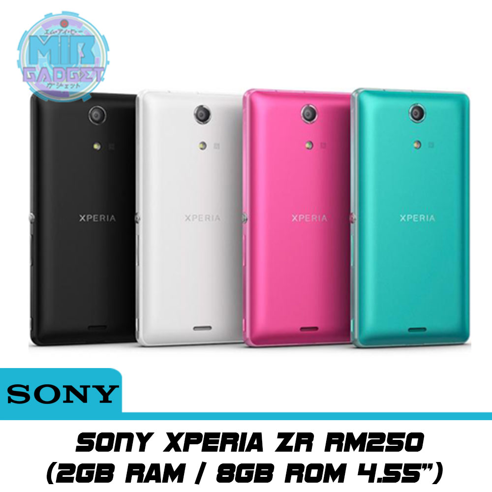 Sony Xperia ZR 2GB RAM / 8GB ROM