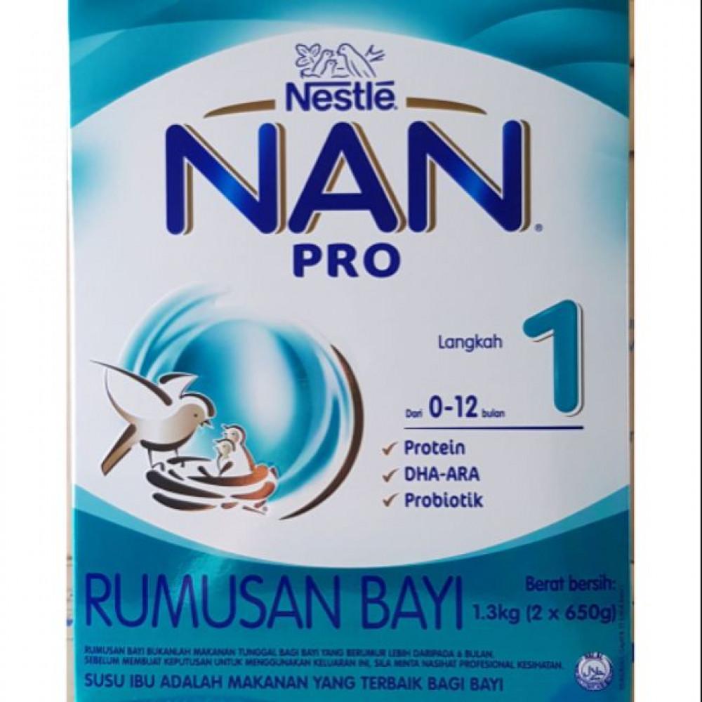 Nestle NAN Pro Rumusan Bayi Langkah-1 1.3kg