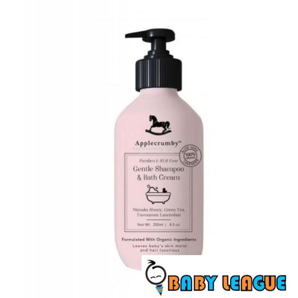 Applecrumb Gentle Shampoo & Bath Cream 250ml x 1
