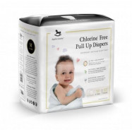 image of Applecrumby & Fish Chlorine Free Premium Baby Pull Up Diaper  M22 x 1