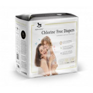 image of Applecrumby Chlorine Free Premium Baby Diapers XL24 x 1