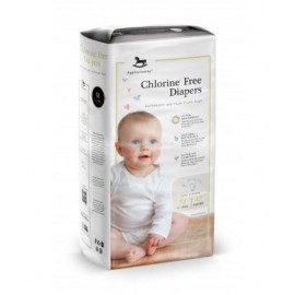 image of Applecrumby Chlorine Free Premium Baby Diapers M42 x 1