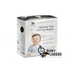 Applecrumby & Fish Chlorine Free Premium Baby Pull Up Diaper  XL18 x 1