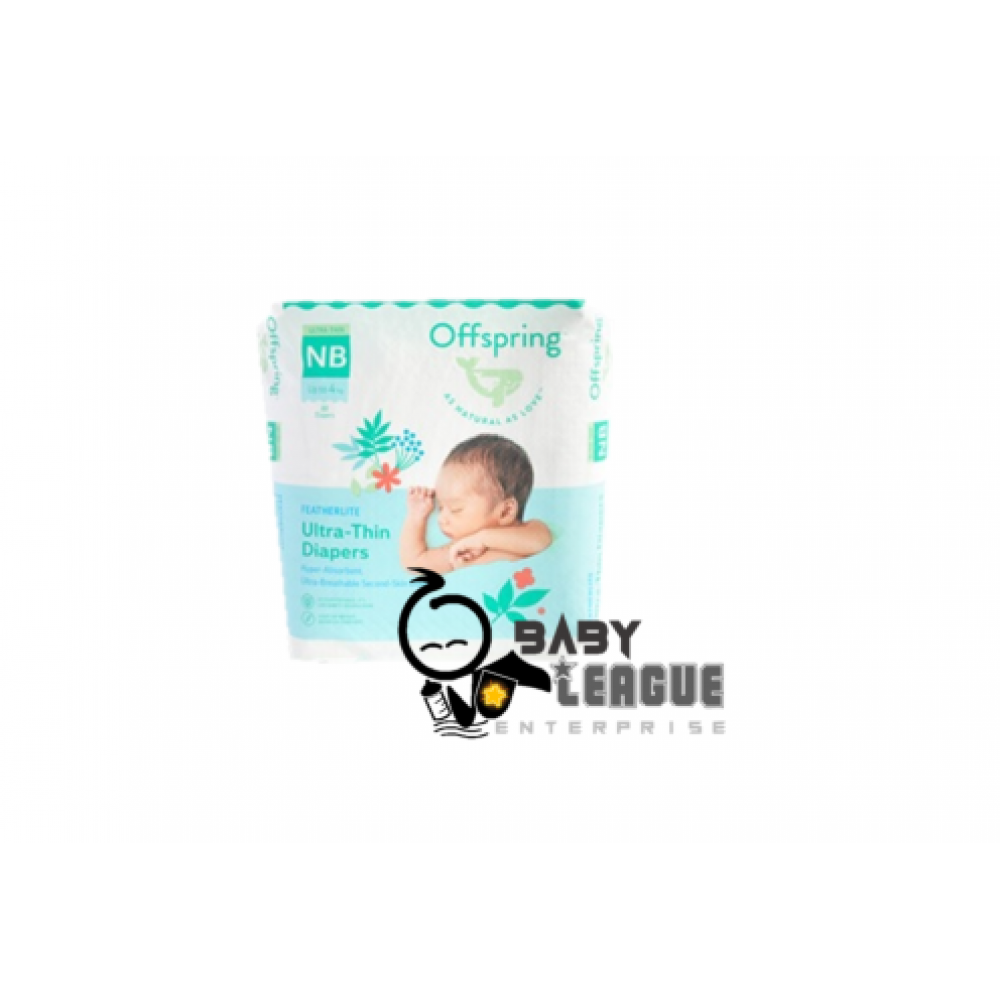 Offspring Featherlite Diapers NB22/S44/M38/L32/XL26(Buy 4 packs FOC Offpsring Wipes 20 sheets x 1) While stock last