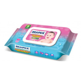 image of DIAPEX Soft Baby Wipes 80s x 1