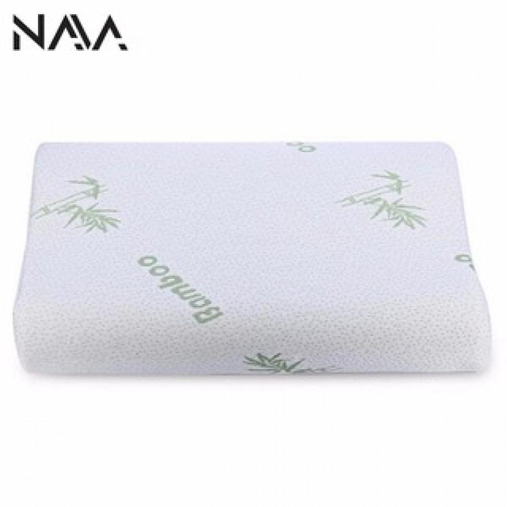 Bamboo Fiber Memory Foam Health Positive Neck Support Pillow