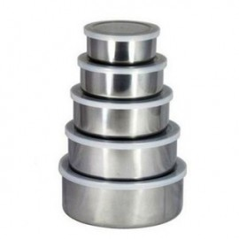 image of Stainless Steel Food Container (5 in 1)
