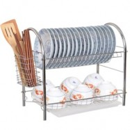 image of U-Shape Steel Dish Rack
