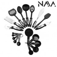 image of Tip Top Kitchen Cooking Ladle Tools and Gadget Full Set (19 Pcs)