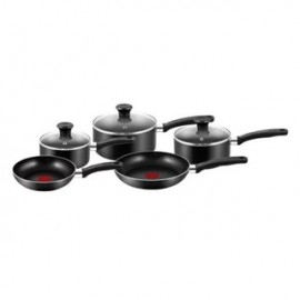 image of Tefal Essential Cookware Set (5 Pcs) - Black