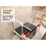 Extendable 2-Layer Kitchen Rack 7009 (49cm-90cm)