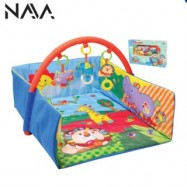 image of Parkfield European Infant Baby Gym Activity Soft Play Mat