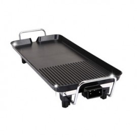 image of Korea Non-Stick BBQ Multifunction Grill Cooker (40cm x 23cm)