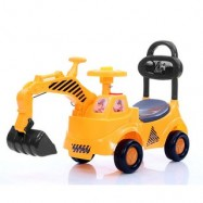 image of Children Engineer Playing Learning Ride-On Tractor