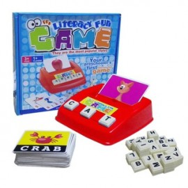 image of Children English Literacy Spelling Fun Family Game