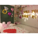 Will You Marry Me Propose Balloon Decoration Set Valentine Best Selling Hot Item
