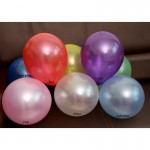 10' inch 2.2g Thicken Colourful Pearl Latex Balloon Party Event Deco 20/50/100