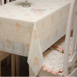 image of Waterproof Oil Proof PVC Table Cover Cloth Home Dining Kitchen Decoration