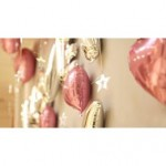 Valentine Day I Love You Flamingos Surprise Party Decoration Balloons Set
