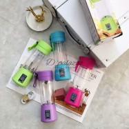image of Portable USB Fruit Juice Blender Smoothie Maker Rechargeable Electric Handheld