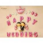Happy Wedding Sweet Day We Are Married Wedding Party Decoration