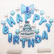 image of Happy Birthday Balloon Set Birthday Decoration Party Decoration For HIM