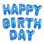 Happy Birthday Baby Boy Moon Party Decoration Balloon Set