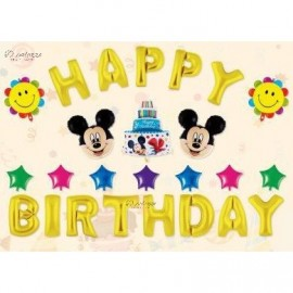 image of Mickey Mouse Birthday Decoration Balloon 米奇生日
