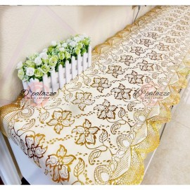 image of TV Cabinet Table Cover Flower Lace tv Cabinet Table Cloth Dust Cover Cabinet