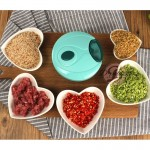 Multi-Functional Easy Manual Hand Pull Garlic Speedy Chopper For Garlic Vegs etc