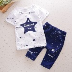 STAR Design Baby Boy Girl Kid Child Summer Clothes Clothing 2pcs Set