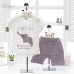 Baby Boy Girl Kid Child Summer Clothes Clothing Suit 2 pcs Set