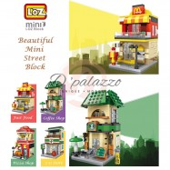 image of LOZ Mini Branded Building Block / Street Block Street View Block Mini Block