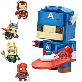 image of LOZ Avenger Superhero Series Mini Block