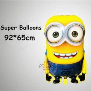 image of Minion Foil Balloon For Party Decoration Birthday Kid Cartoon