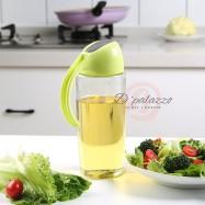 image of Leakproof Kitchen Glass Oiler Pot Glass Oiler Pot Oil Pot Home Jar Pot 500ml