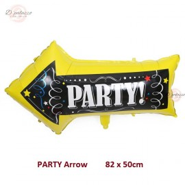 image of Party Arrow Direction Indicator Balloon Decorations Venue Balloon