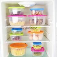 image of Super Value Storage Box Food Container Kitchen Gadget 5pcs