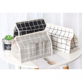 image of Remote Control Storage Box Tissue Container Multi Usage Fashion Home Decoration
