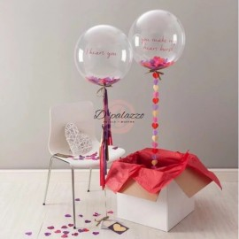 image of 18 inch 24 inch Clear Balloon Transparent Bubble Birthday Party Wedding Decor