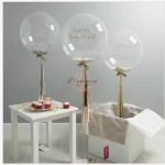 18 inch 24 inch Clear Balloon Transparent Bubble Birthday Party Wedding Decor
