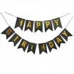 Happy Birthday Flag Bunting Flag Banner Flag for Birthday Party Decoration