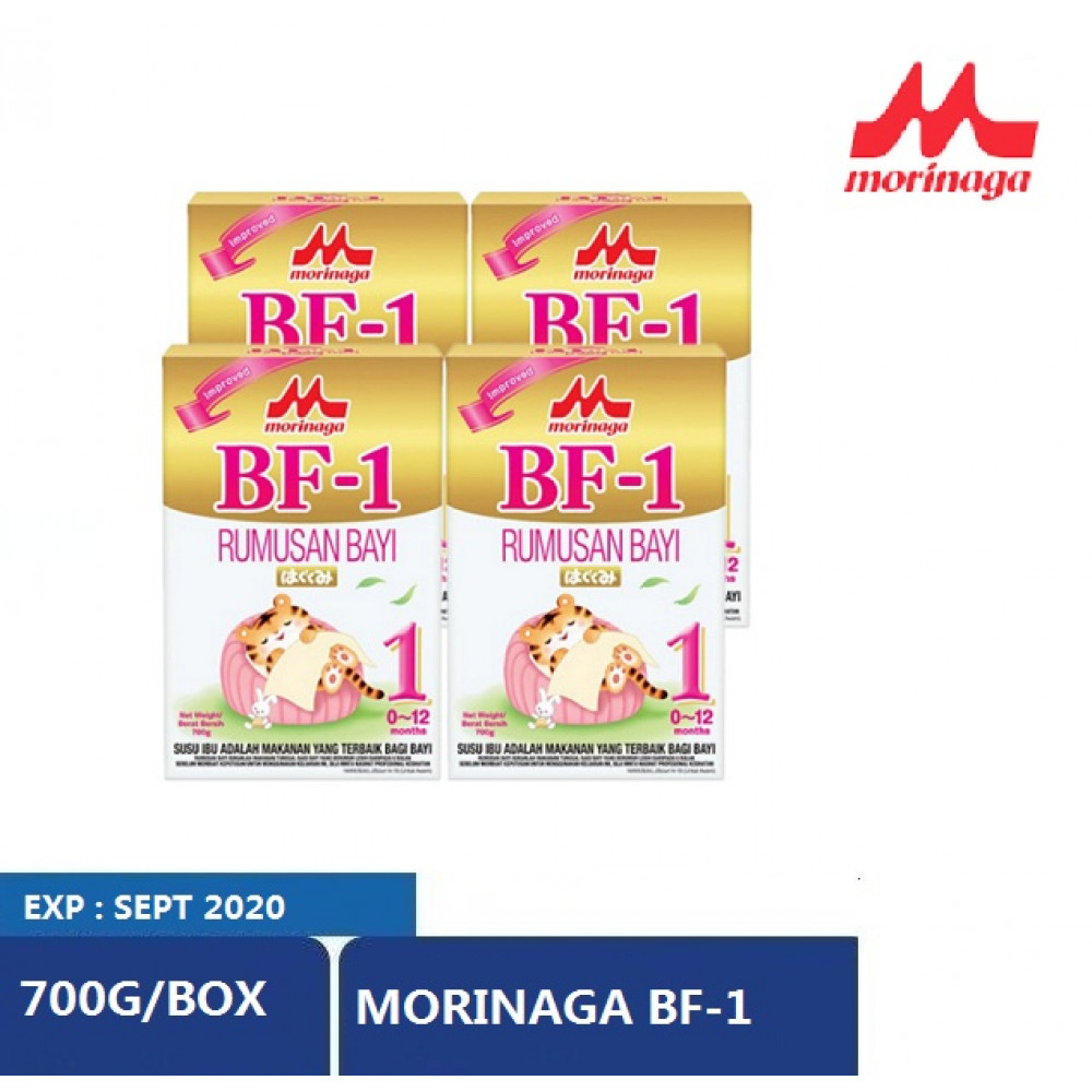 Morinaga BF-1(700g x 4 boxes) EXPIRED DATE NOV 2020