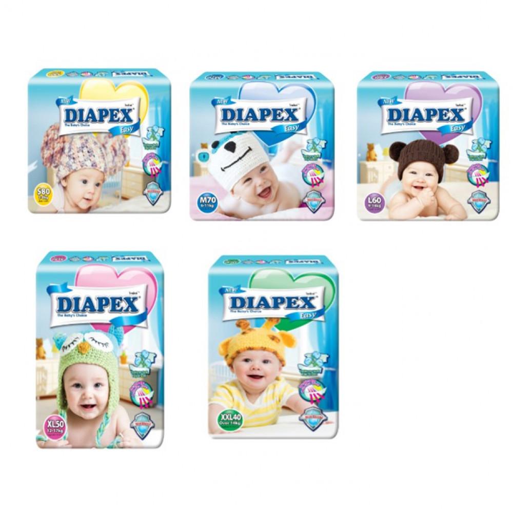 Diapex Easy Tape ONEPACK【M70/L60/XL50/XXL40】