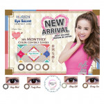 Horien Monthly Color Contact Lens (2 Pieces)(Can Mix Power)