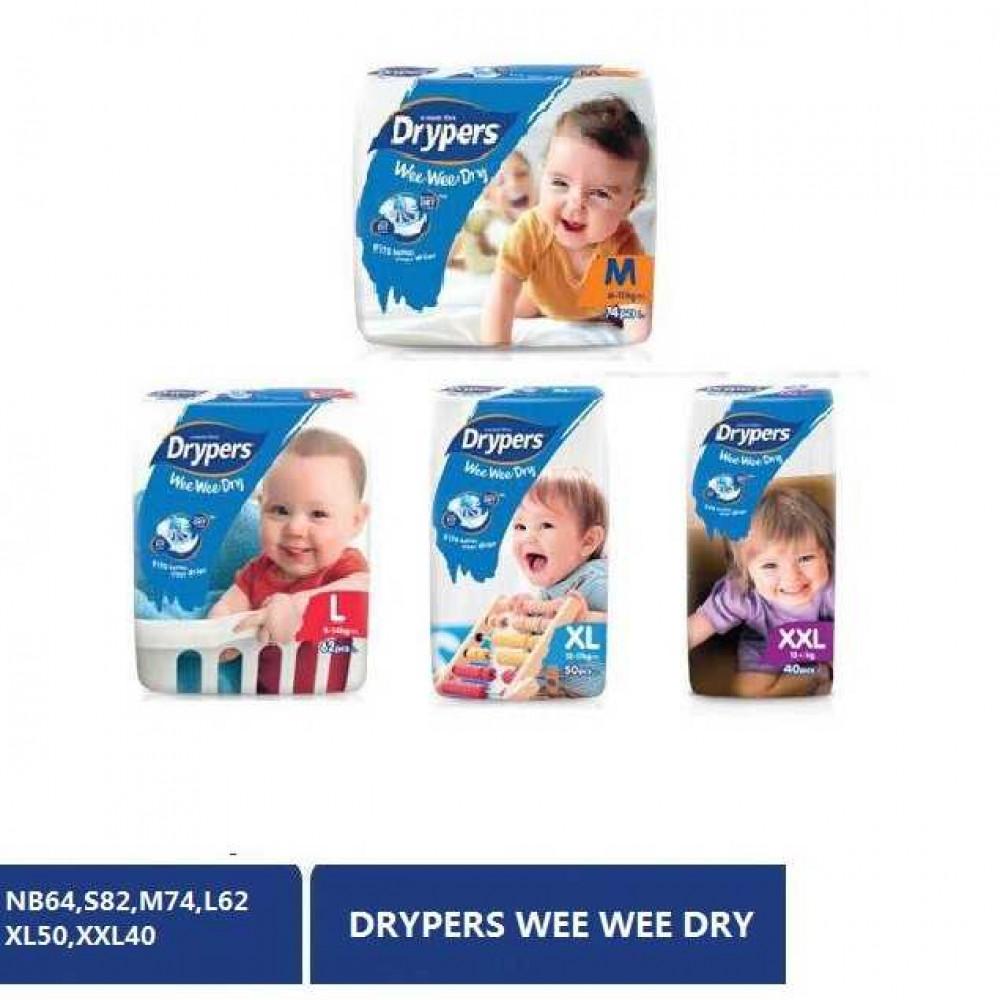 Drypers wee wee dry S/M/L/XL