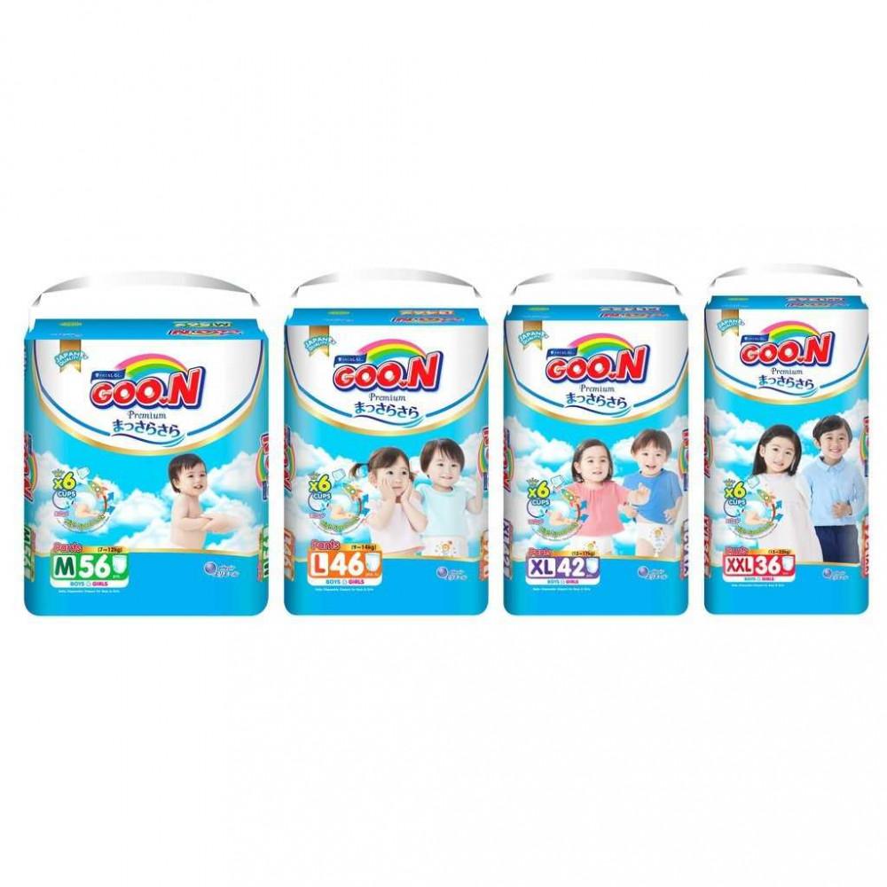 Goo.N Premium Pants Diaper M/ L/ XL/ XXL/ XXXL x 1 Pack GOON